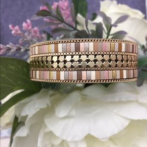 Accessories - 🆕 Multi-color(warm tone) leather banded bracelet